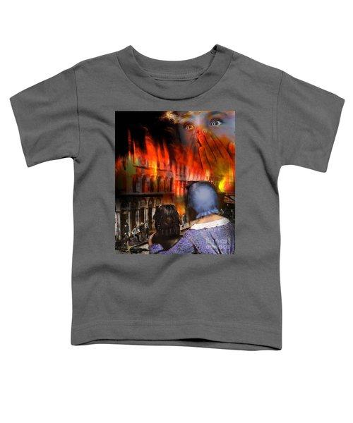 San Francisco Fire Toddler T-Shirt