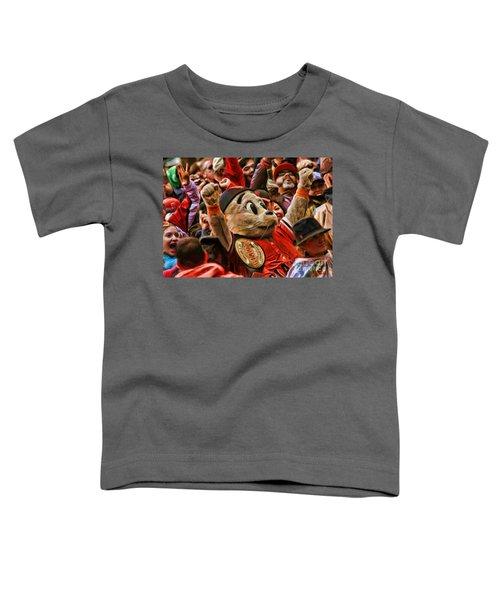 San Francisco Giants Mascot Lou Seal Toddler T-Shirt