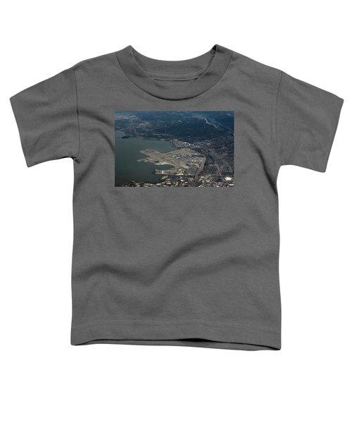 San Francisco International Airport Toddler T-Shirt