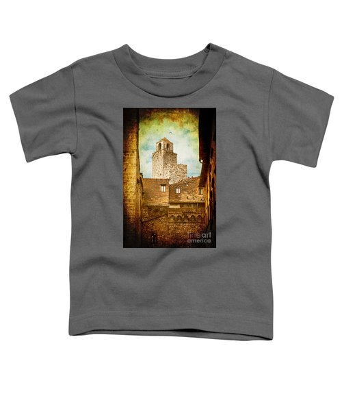 San Gimignano Italy Toddler T-Shirt