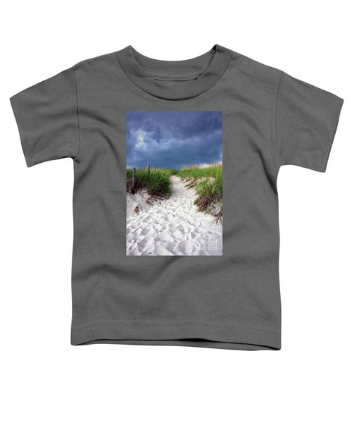 Sand Dune Under Storm Toddler T-Shirt