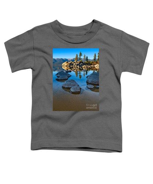 Sand Harbor Ripples Toddler T-Shirt