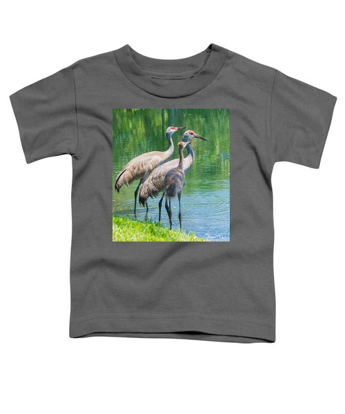 Mom Look What I Caught Toddler T-Shirt