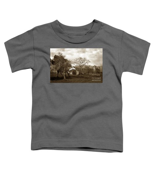 Santa Barbara Mission California Circa 1890 Toddler T-Shirt