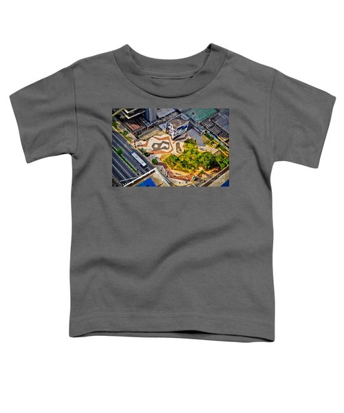 Sao Paulo Downtown - Geometry Of Public Spaces Toddler T-Shirt