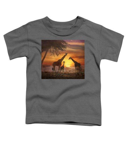 Savanna Sunset Toddler T-Shirt