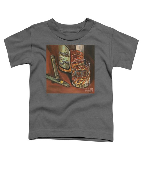 Scotch And Cigars 3 Toddler T-Shirt