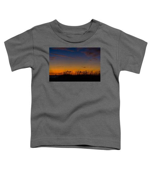 Sea Oats At Twilight Toddler T-Shirt