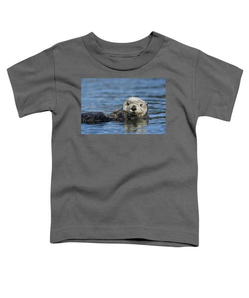 Sea Otter Alaska Toddler T-Shirt