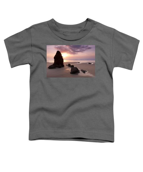 Sea Stack Sunset Toddler T-Shirt