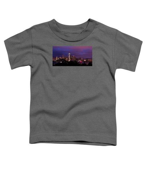 Seattle Night Toddler T-Shirt