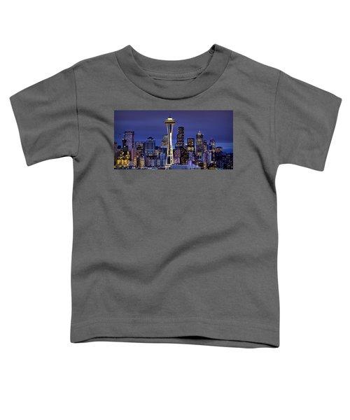 Seattle Skies Toddler T-Shirt