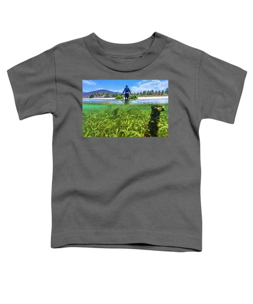 Seaweed Farm. Sumbawa. Indonesia Toddler T-Shirt