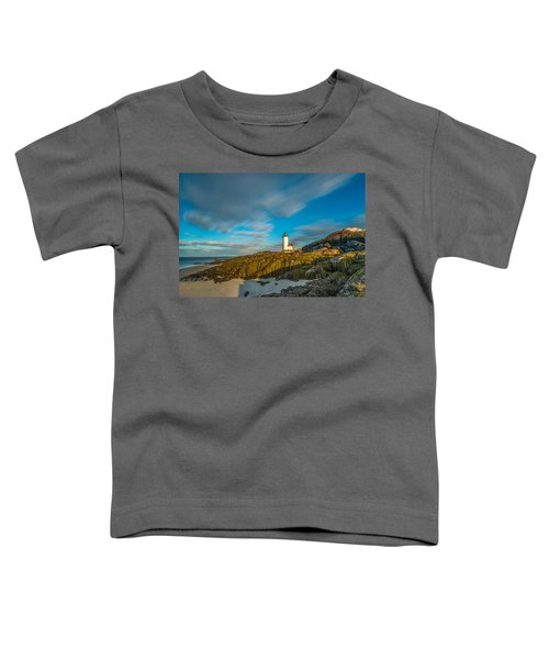 Seaweed Swagger And Time Traveling Clouds  At Annisquam Harbor L Toddler T-Shirt