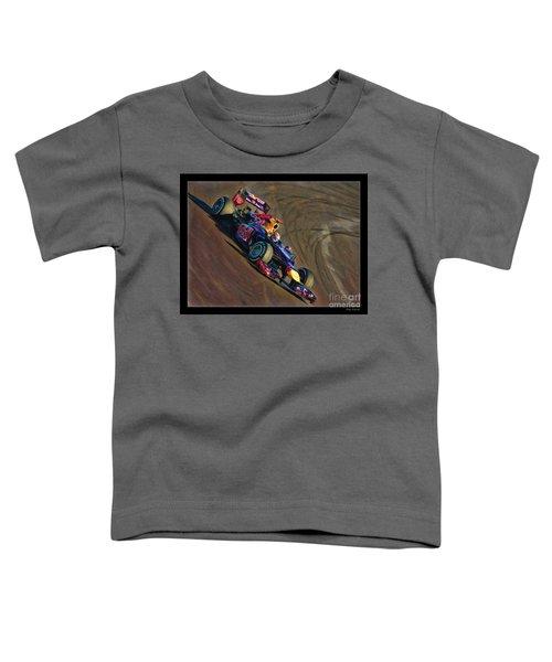 Sebastian Vettel - Red Bull Toddler T-Shirt