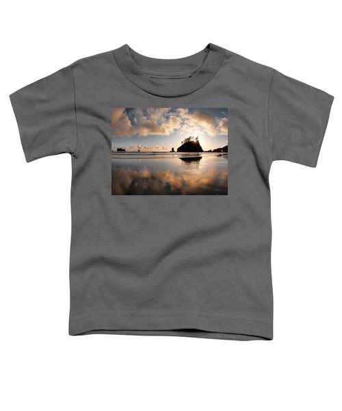 Second Beach Toddler T-Shirt by Leland D Howard