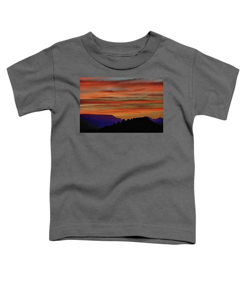 Sedona Az Sunset 2 Toddler T-Shirt