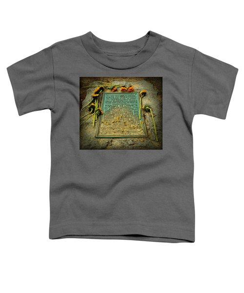 Seige Of Yorktown Memorial Toddler T-Shirt