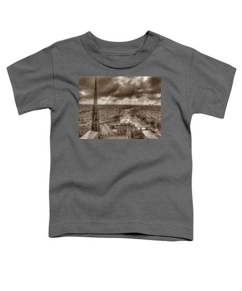 Seine From Notre Dame Toddler T-Shirt