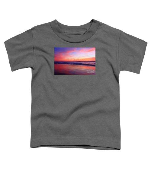 Serene Oceanside Glow Toddler T-Shirt