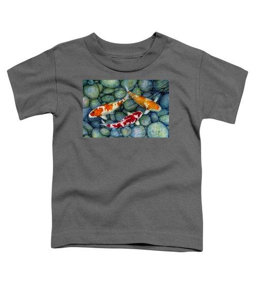 Serenity Koi Toddler T-Shirt