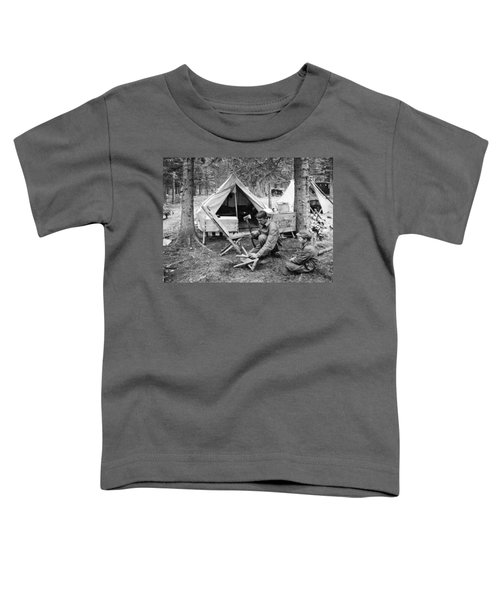 Setting Up Camp Toddler T-Shirt