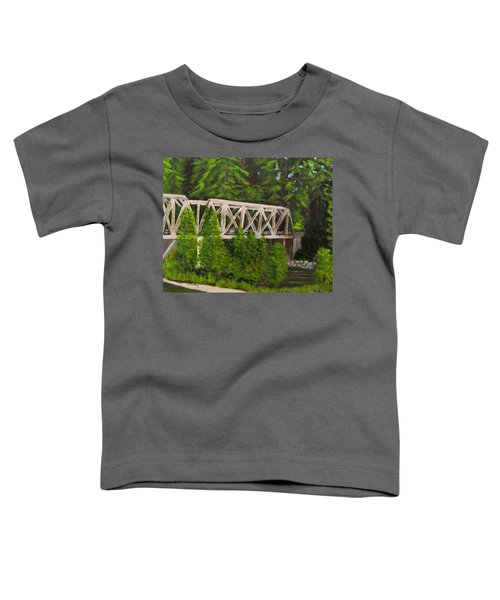Sewalls Falls Bridge Toddler T-Shirt