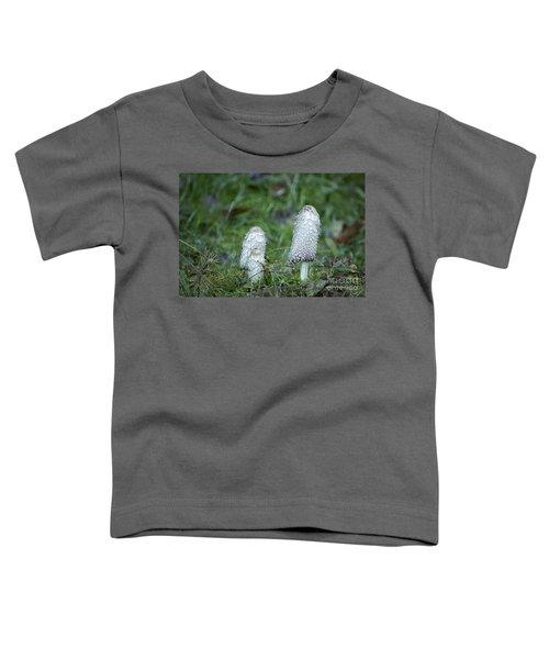 Shaggy Cap Mushroom No. 3 Toddler T-Shirt