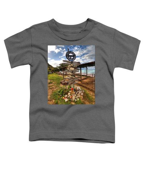 Shipwreck Beach Toddler T-Shirt