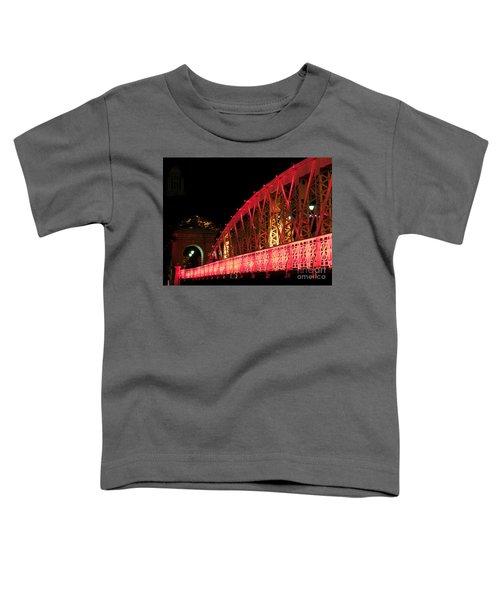 Singapore Anderson Bridge At Night Toddler T-Shirt