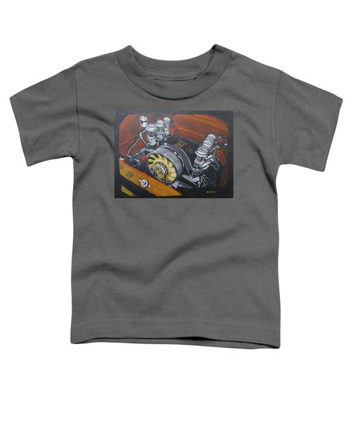 Singer Porsche Engine Toddler T-Shirt