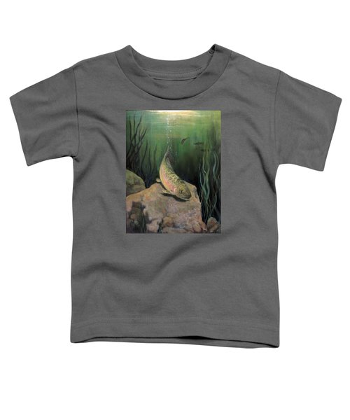 Single Trout Toddler T-Shirt