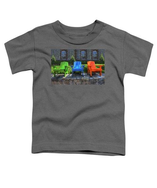 Sit Back Toddler T-Shirt
