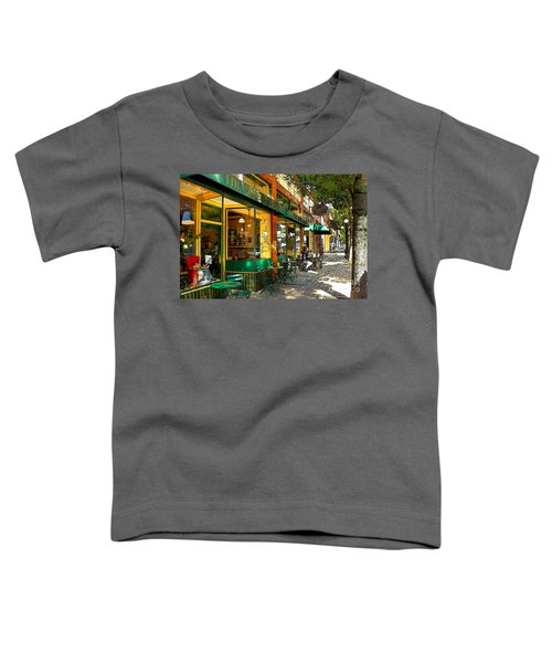 Sitting At The Bakery Toddler T-Shirt
