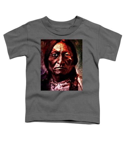 Sitting Bull - Warrior - Medicine Man Toddler T-Shirt