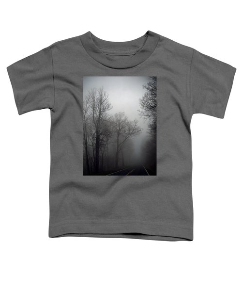Skyline Drive In Fog Toddler T-Shirt