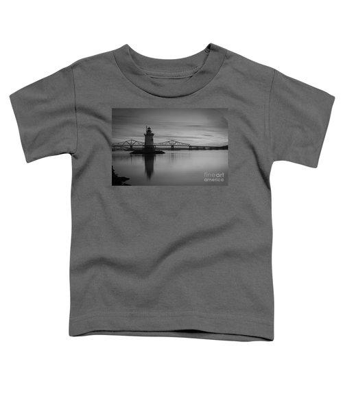 Sleepy Hollow Lighthouse Bw Toddler T-Shirt