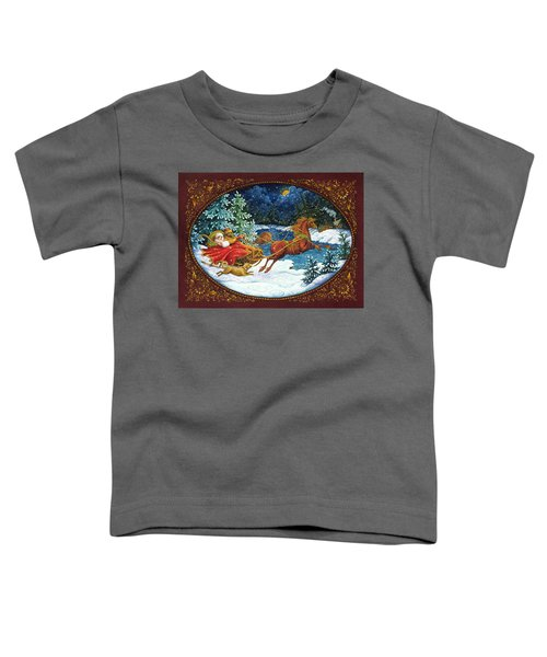 Sleigh Ride Toddler T-Shirt