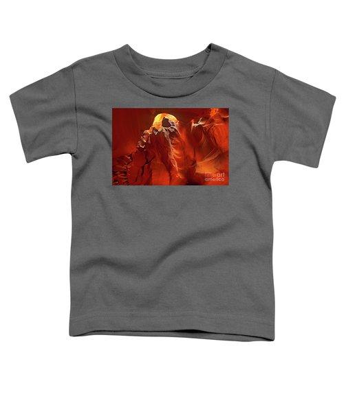 Slot Canyon Formations In Upper Antelope Canyon Arizona Toddler T-Shirt