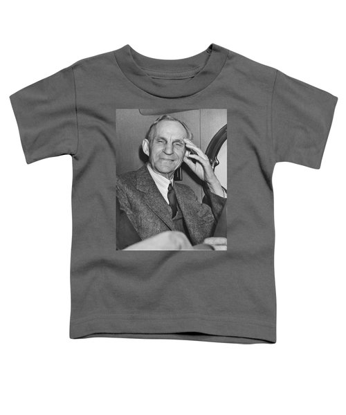 Smiling Henry Ford Toddler T-Shirt by Underwood Archives