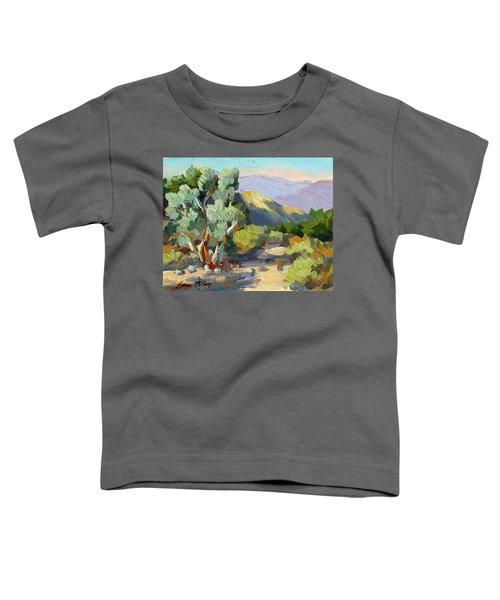 Smoke Trees At Thousand Palms Toddler T-Shirt