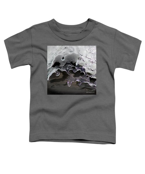 Snow And Ice Square Toddler T-Shirt