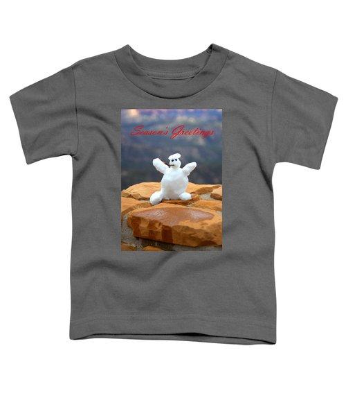 Snowball Snowman Toddler T-Shirt
