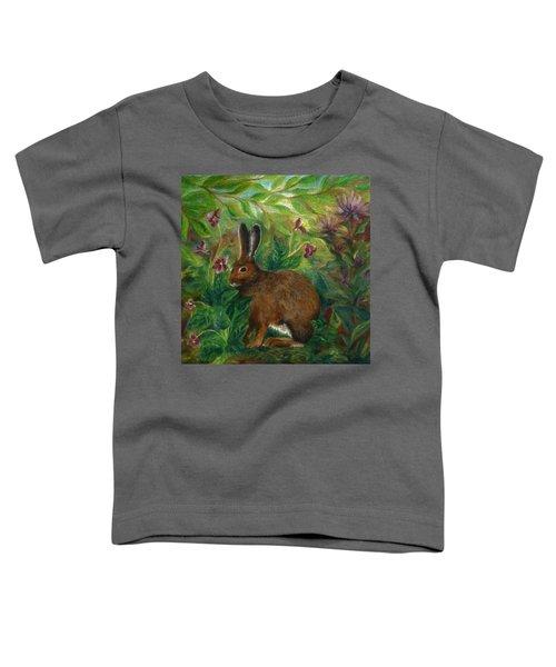 Snowshoe Hare Toddler T-Shirt