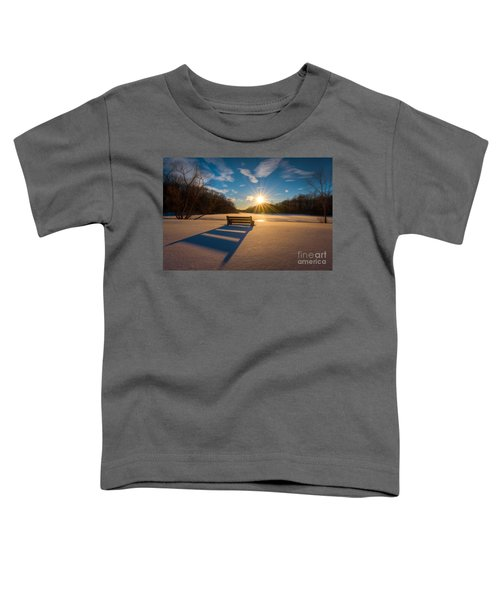 Snowy Bench Toddler T-Shirt