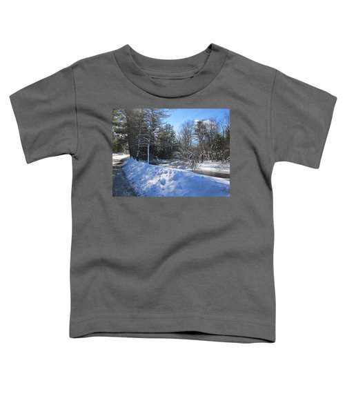 Snowy River Road Toddler T-Shirt