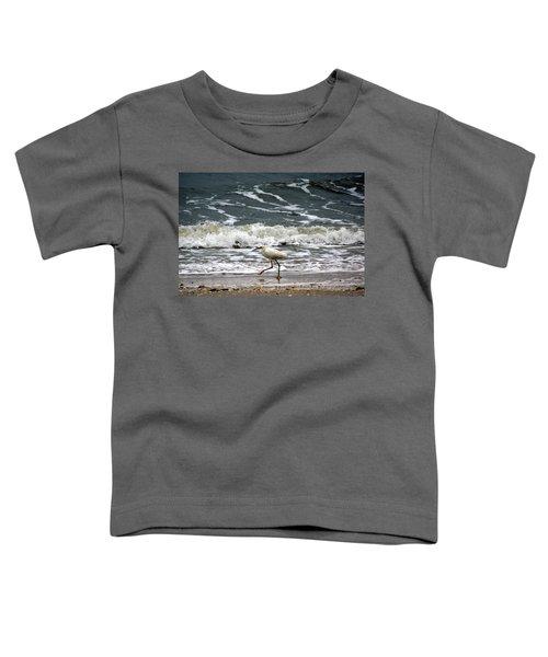 Snowy White Egret Toddler T-Shirt