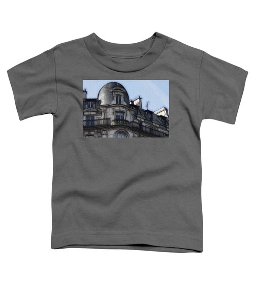 Softer Side Of Paris Architecture Toddler T-Shirt