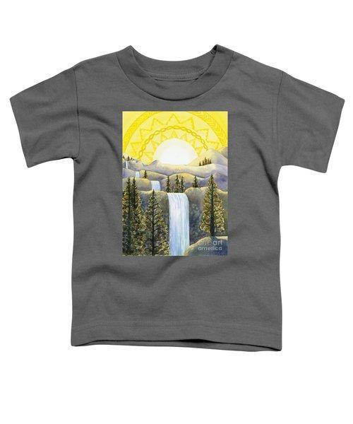 Solar Plexus Chakra Toddler T-Shirt