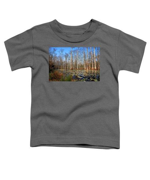 South Carolina Swamps Toddler T-Shirt